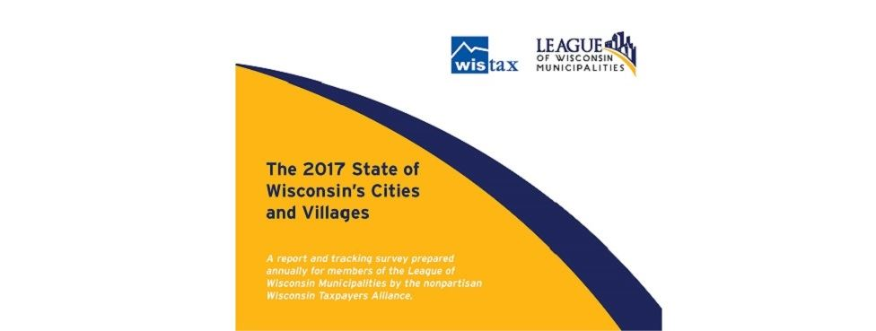 2017 State of WI Cities and Villages report