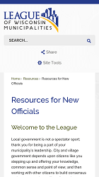 Welcome - Check out League Resources