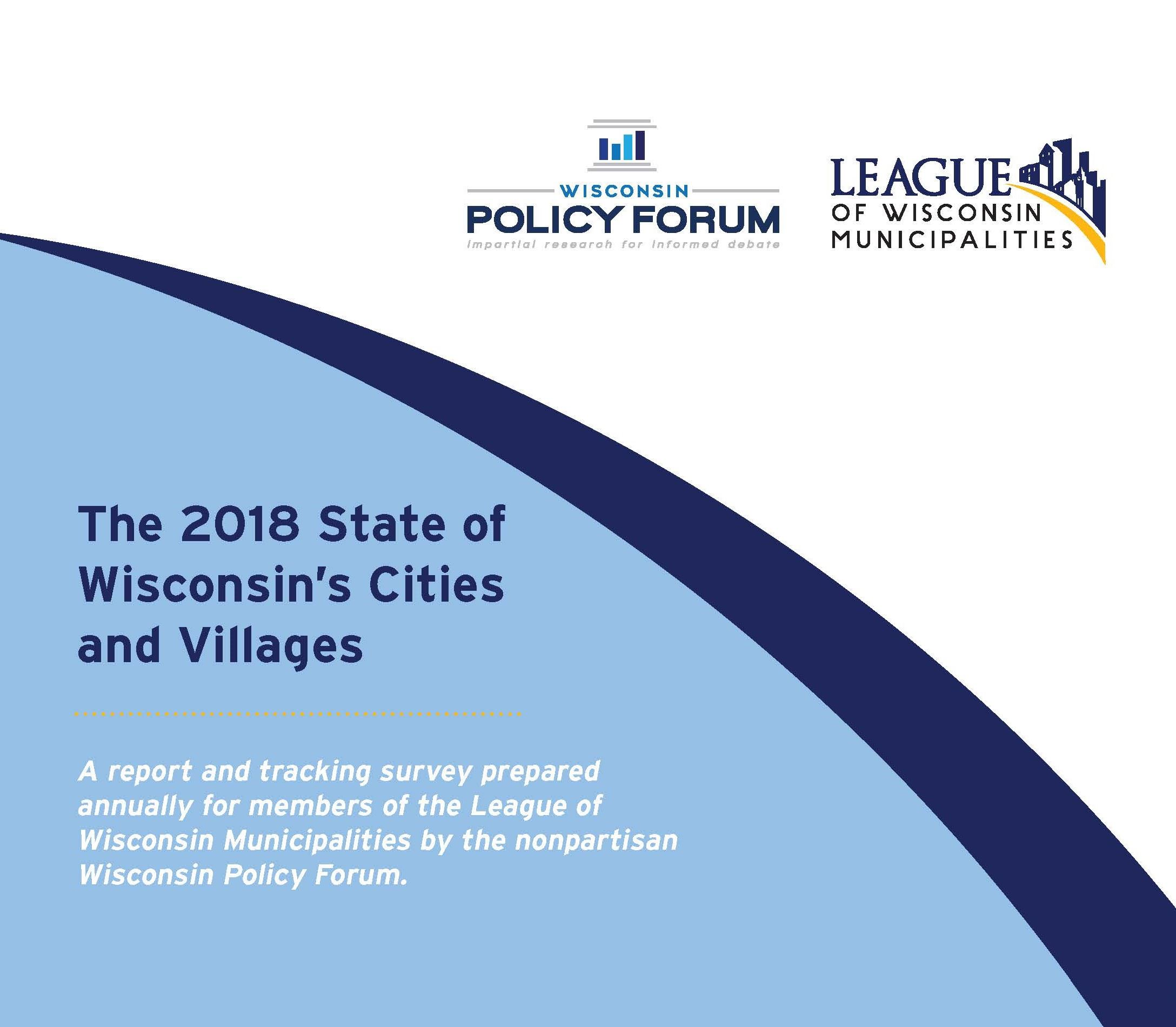 2018 State of Cities and Villages Cover