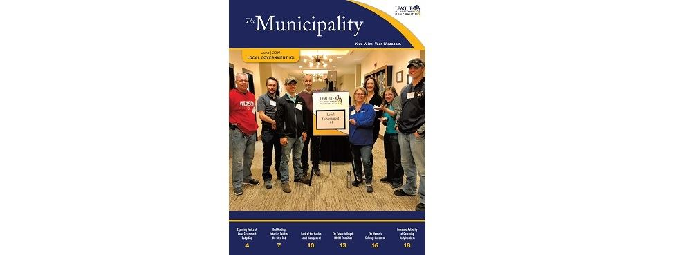 Great Cover Models on the June Local Gov 101 issue of the magazine