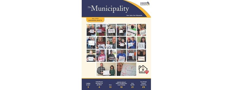 League's The Municipality Cover - Milton Safer at Home
