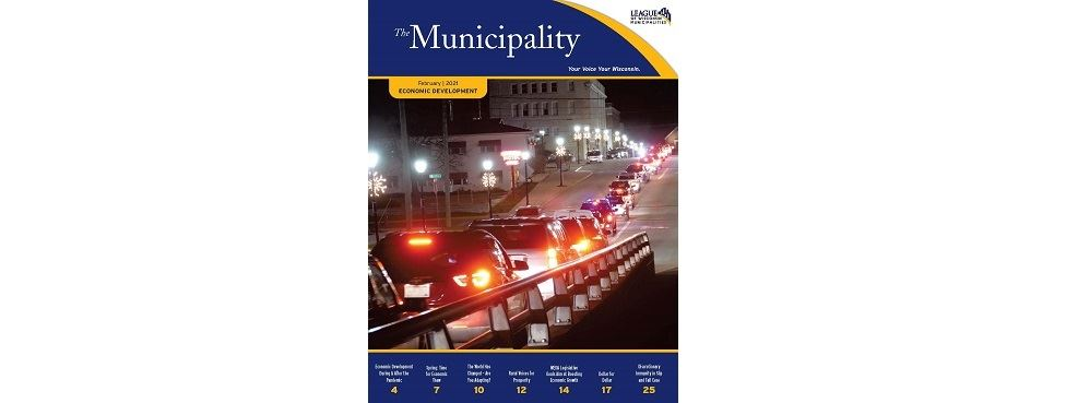 Read the February The Municipality