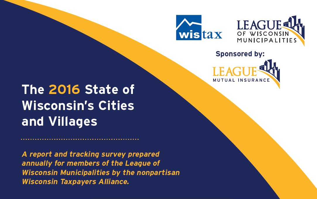2016 State of Wisconsin&#39s Cities & Villages