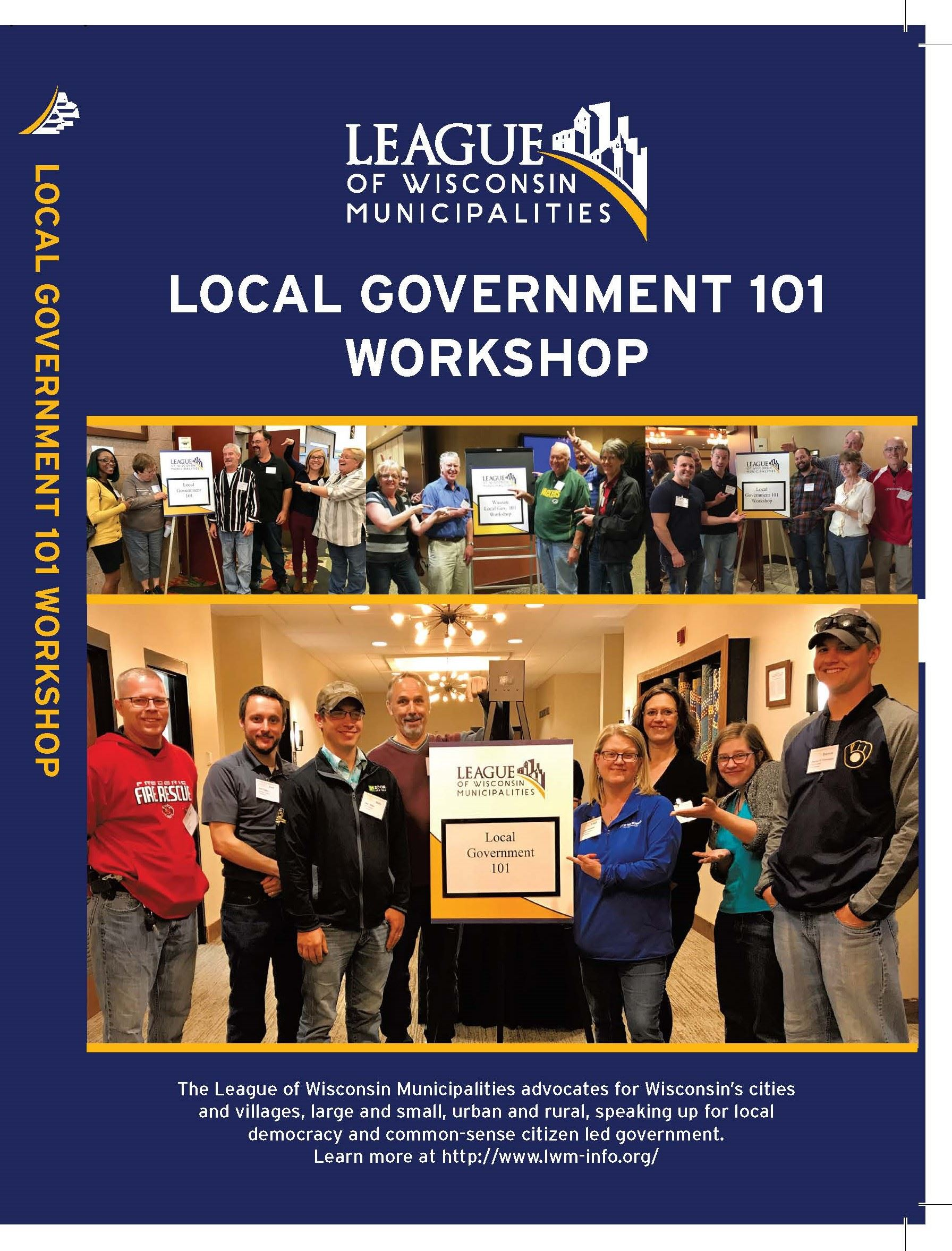 LOCAL GOV 101 DVD cover