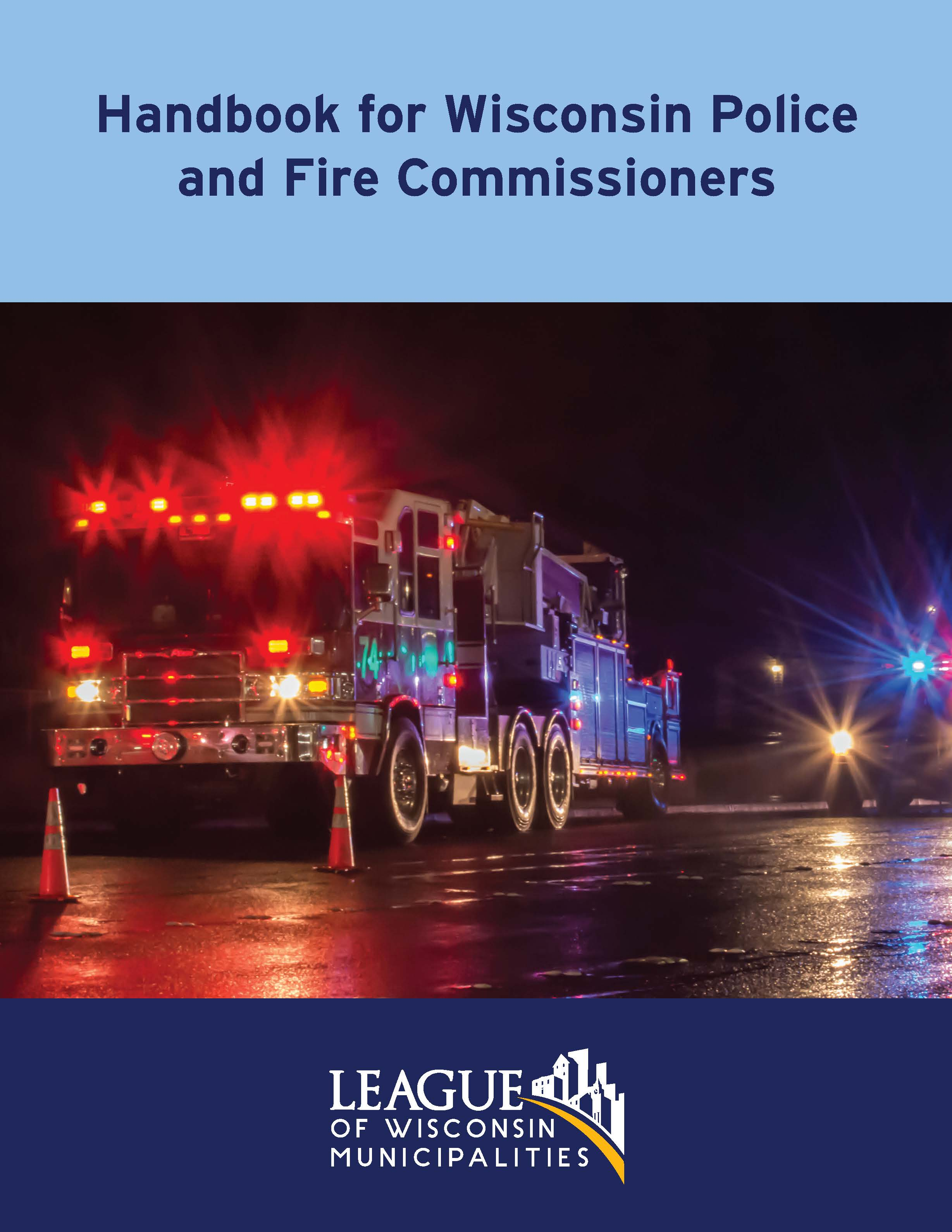 Police and Fire Commission Manual 2020 Cover